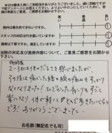 新潟県 新潟市西区 M.H様 28歳 女性
