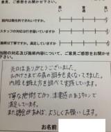 新潟県 阿賀野市 H.K様 男性 23歳 事務