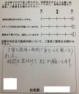 新潟県 新潟市中央区 M.N様 男性 45歳 会社員