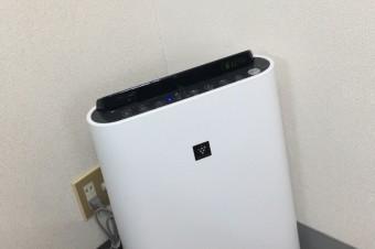 新しい空気清浄機導入しました!!