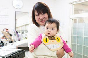 新潟整体工房では産後の骨盤矯正時に子供さんの対応を致します。